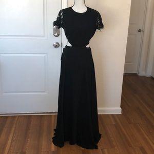 Bebe Black evening dress sz 8